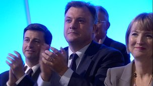 Douglas Alexander, Ed Balls and Harriet Harman