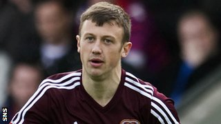 Hearts forward Dale Carrick