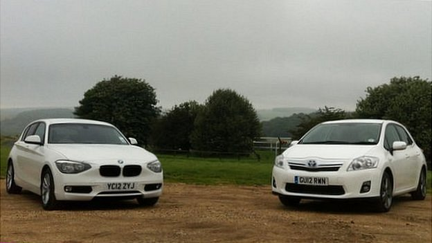 BMW and Toyota