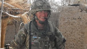 Lieutenant Thomas Onion in Afghanistan
