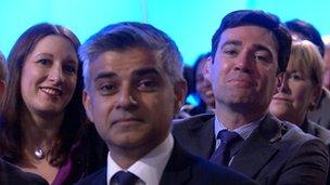 Rachel Reeves, Sadiq Khan, Andy Burnham