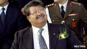 Then Turkish President Turgut Ozal in a file picture taken in January 1993 - just three months before his death