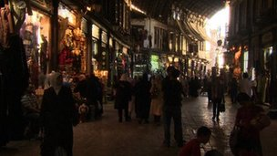 Damascus' historic Souk al-Hamidiyeh market