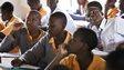 Schoolchildren in Africa