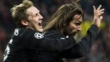 Kris Commons and Georgios Samaras celebrating