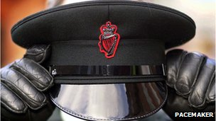RUC officer's hat