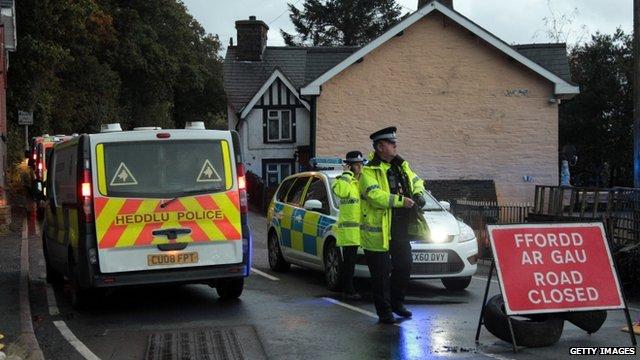 Police in Machynlleth