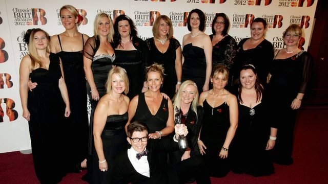 Gareth Malone and the Military Wives