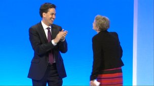 Ed Miliband and Yvette Cooper