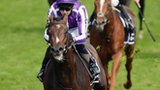 Camelot, ridden by Joseph O'Brien, wins the 2012 Derby