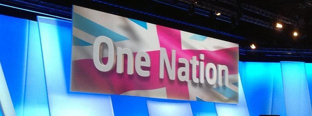 One Nation backdrop