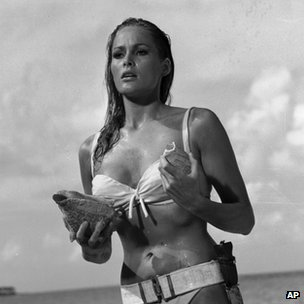Ursula Andress in Dr No (c) AP