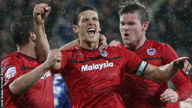 Cardiff City captain Mark Hudson