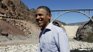President Obama on the campaign trail in Nevada