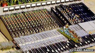 The mixing desk used to make Tubular Bells