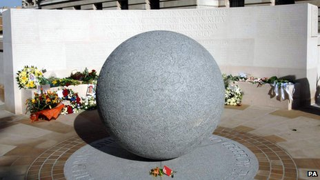 The Bali bomb memorial in London