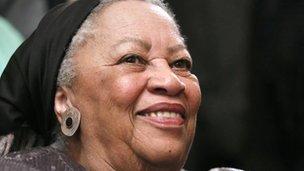 Nobel laureate Toni Morrison