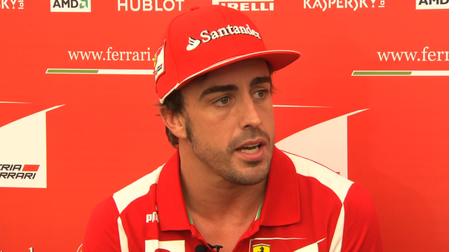 Ferrari&#039;s Fernando Alonso