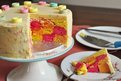 Colourful cake