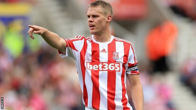 Stoke City&#039;s Ryan Shawcross