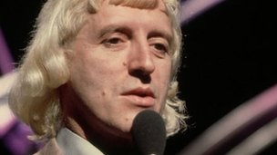Sir Jimmy Savile, presenting Top of the Pops
