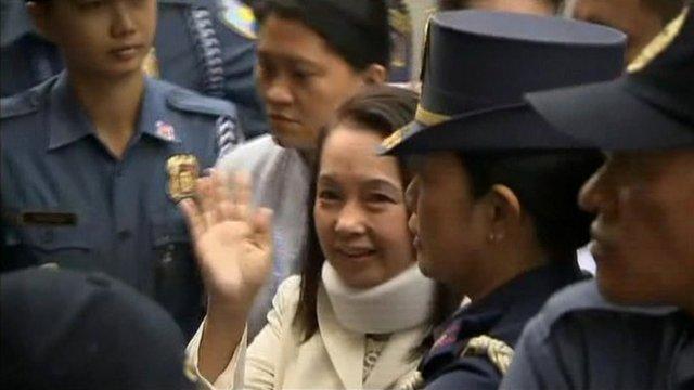 Former President Gloria Arroyo