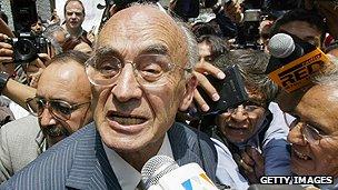 Ex-president Luis Echeverria