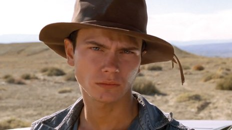 River Phoenix in Dark Blood