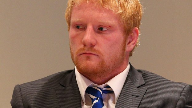 James Graham attends the NRL hearing