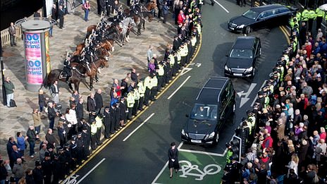 Funeral of PC Fiona Bone