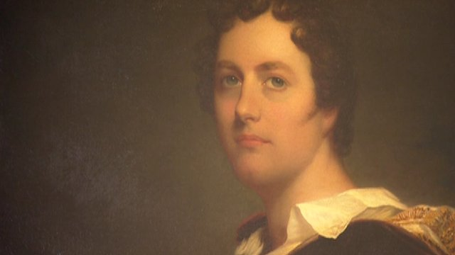 Painting of Lord Byron