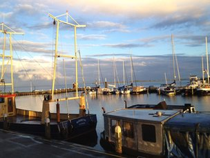 Harbour in Volendam