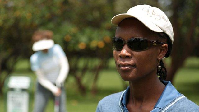 Wambui Gitonga, minibus driver