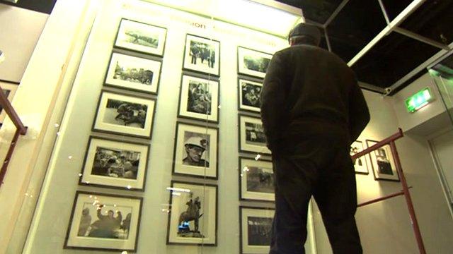 Photographs at the National Coal Mining Museum