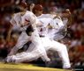 In this multiple exposure photo, St Louis Cardinals starting pitcher Shelby Miller