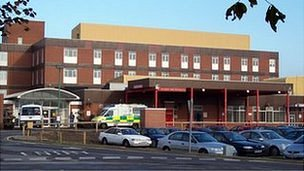 University Hospital of Hartlepool A&E