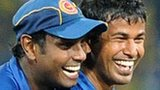Angelo Mathews and Nuwan Kulasekara