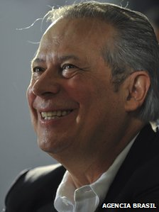 Jose Dirceu, former Brazilian chief of staff