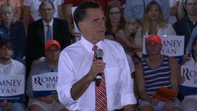 Mitt Romney in Virginia