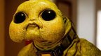 A Slitheen alien from the Sarah Jane adventures