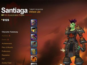 Screenshot of Santiaga