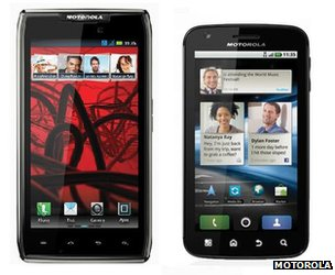 Motorola Razr Maxx and Motorola Atrix