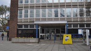 Ipswich police station, Elm Street