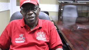 National Security Minister Jack Warner