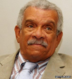 Derek Walcott - poet, playwright, writer, visual artist from St. Lucia