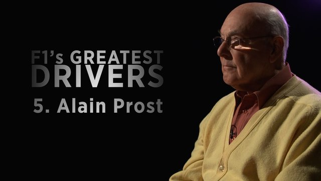 Murray Walker on Alain Prost