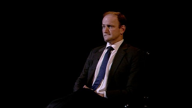 Douglas Carswell in Mastermind chair