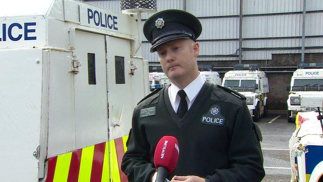 PSNI Chief Inspector Andrew Freeburn