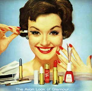 Avon advert in 1959
