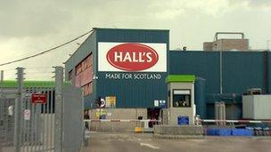 Halls plant